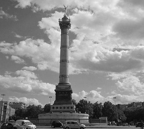 Bastylia zabytki Paryż
