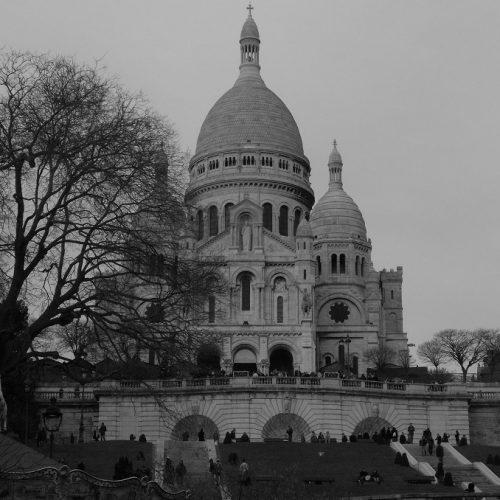 Bazylika Sacre-Coeur Zabytki Paryż