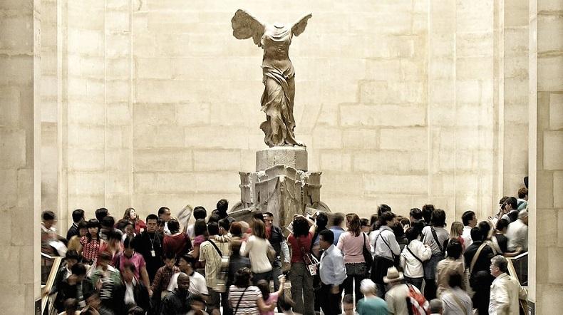 Zabytki Paryż Muzeum Luwr