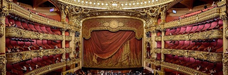 Opera Garnier zabytki Paryż