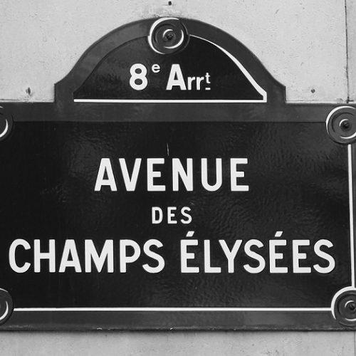 zabytki paryż Pola elizejskie
