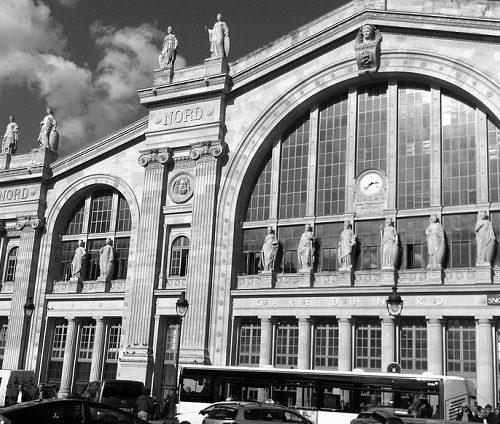 paryskie dworce kolejowe
