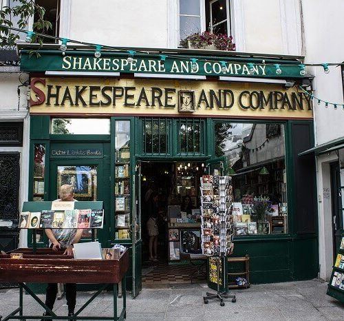 Shakespeare and Company w paryzu