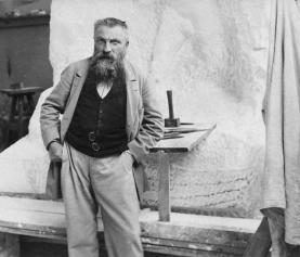 Znane postacie: rzeźbiarz Auguste Rodin