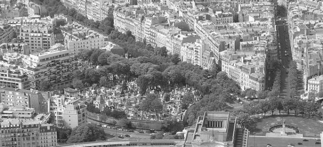 Nekropolie Paryża: cmentarz Passy