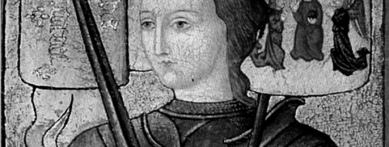 Znane postacie: patronka Francji Joanna d'Arc