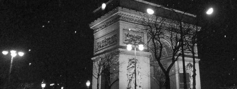 Łuk Triumfalny – jeden z symboli stolicy Francji