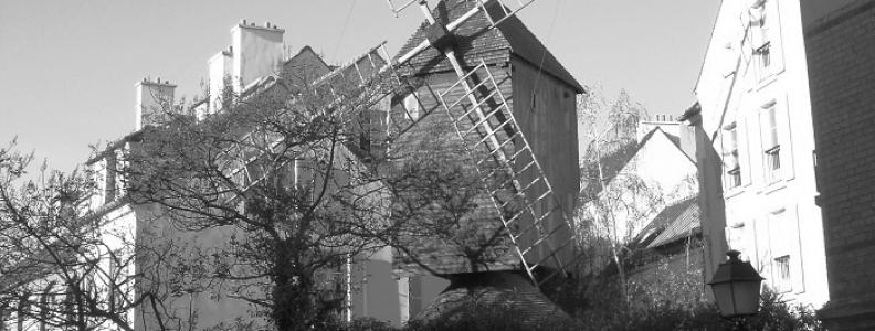 Moulin de la Galette – słynny wiatrak na Montmartre