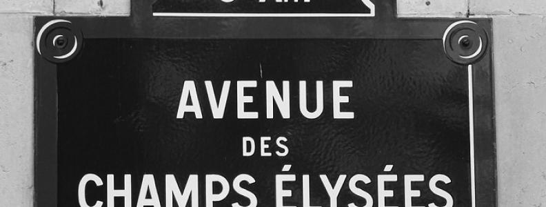 Avenue des Champs-Élysées, czyli Pola Elizejskie