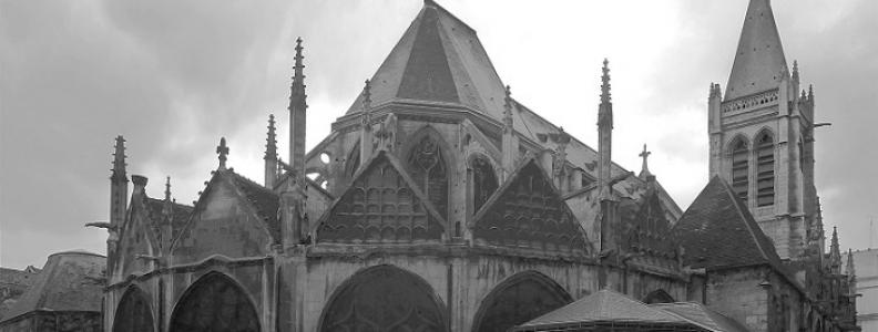 Église Saint-Séverin w Paryżu – dawny kościół Sorbony