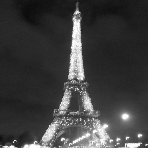 Zabytki Paryż wieża Eiffla