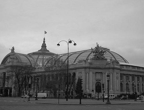 Zabytki Paryż Grand Palais