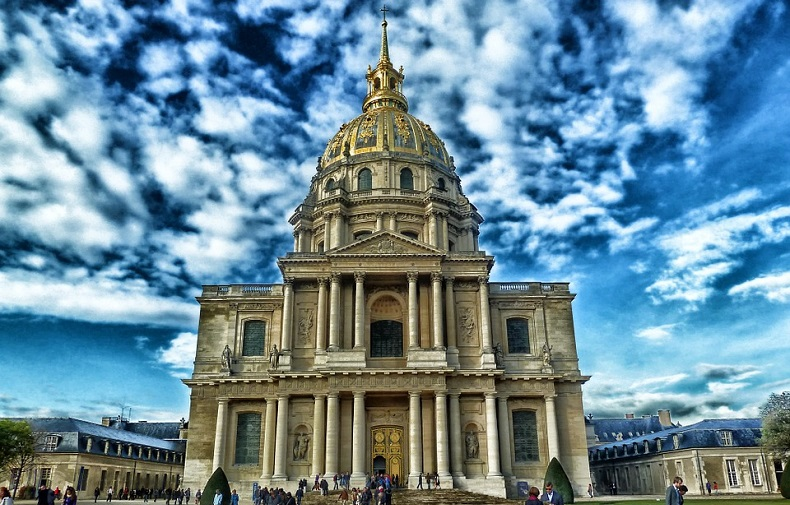 zabytki paryża Pałac Inwalidów