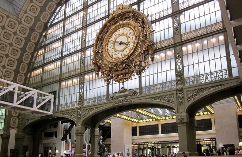 Zabytki Paryża Muzeum Orsay
