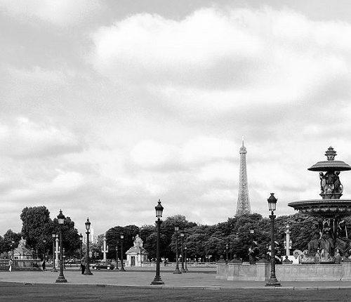 Plac Zgody zabytki paryż