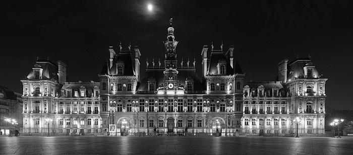 Hôtel de ville, czyli przepiękny ratusz w Paryżu