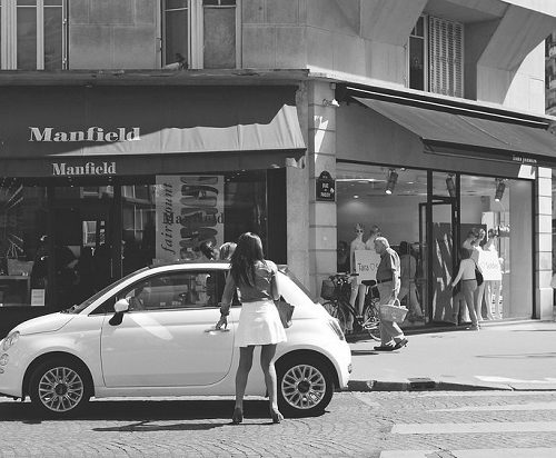 Transport Paryż