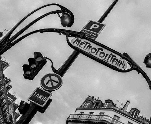 metro paryż