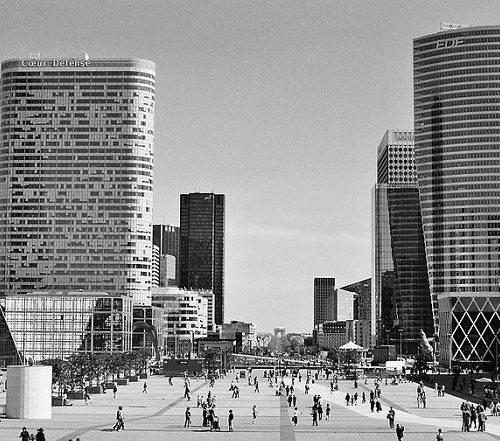 La Défense Paryż