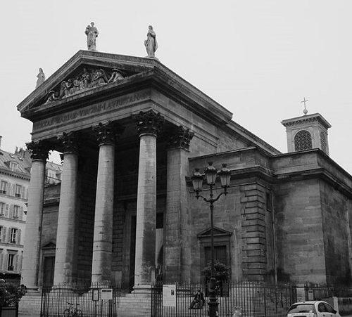 église Notre-Dame de Lorette w Paryżu