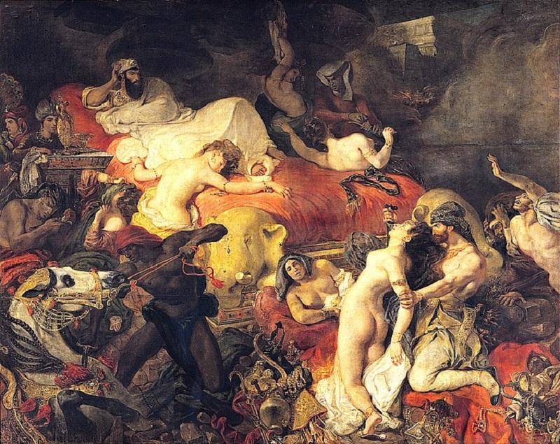 Eugène Delacroix malarz