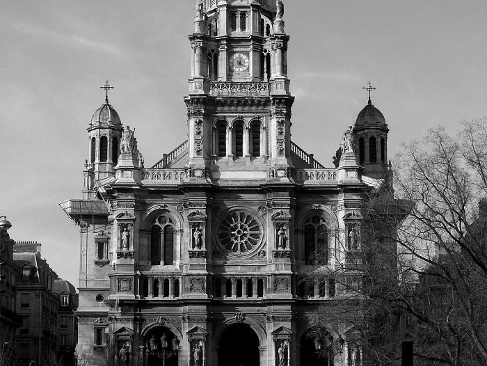 Église de la Sainte-Trinité w Paryżu: mieszanka stylów
