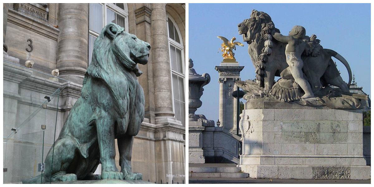 lwy w paryżu