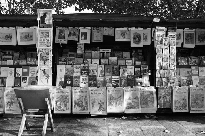 Bukiniści – paryscy księgarze nad Sekwaną