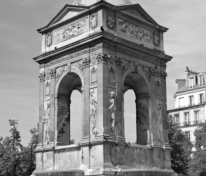 Fontaine des Innocents – słynna fontanna w Paryżu