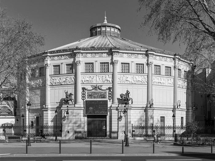Cirque d'hiver – słynna sala w Paryżu