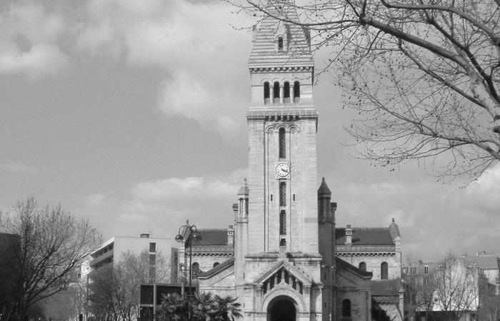Église Saint-Pierre-de-Montrouge w Paryżu