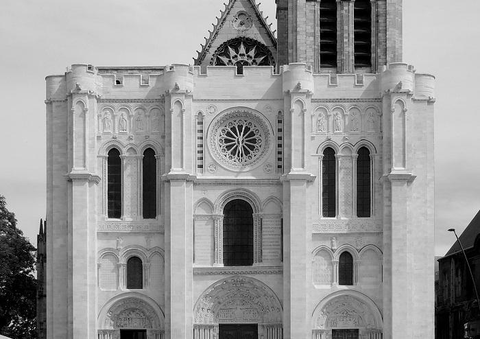 Bazylika Saint-Denis nieopodal Paryża