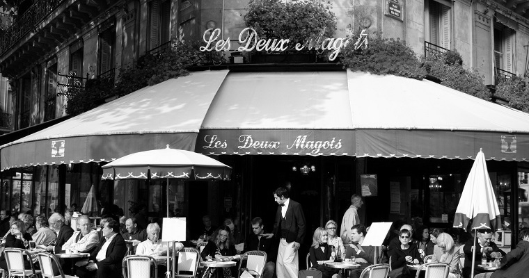 Popularne kawiarnie w Paryżu: Les Deux Magots