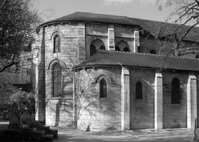 Église Saint-Julien-le-Pauvre w Paryżu