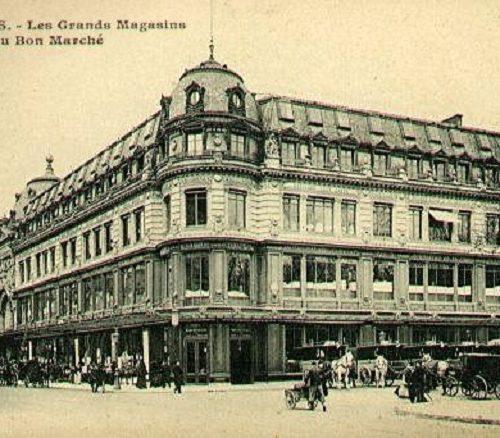 domy towarowe w paryżu