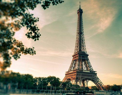 gdzie jest wieża eiffla w paryżu