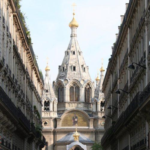 cerkwie w paryżu