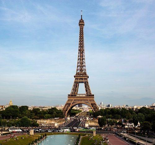 top 5 zabytków paryża