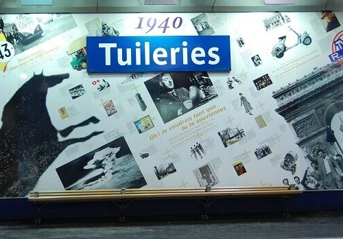 Niezwykłe stacje metra w Paryżu, metro w paryżu
