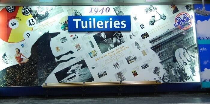 Niezwykłe stacje metra w Paryżu
