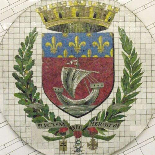 symbole paryża herb paryża