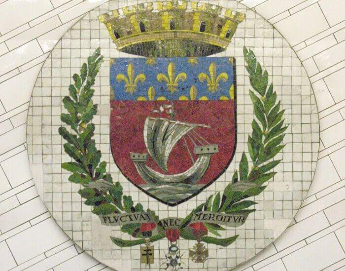 Symbole Paryża: herb, flaga, dewiza