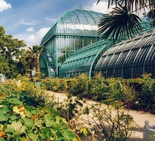 Jardin des serres d'Auteil paryż ogród