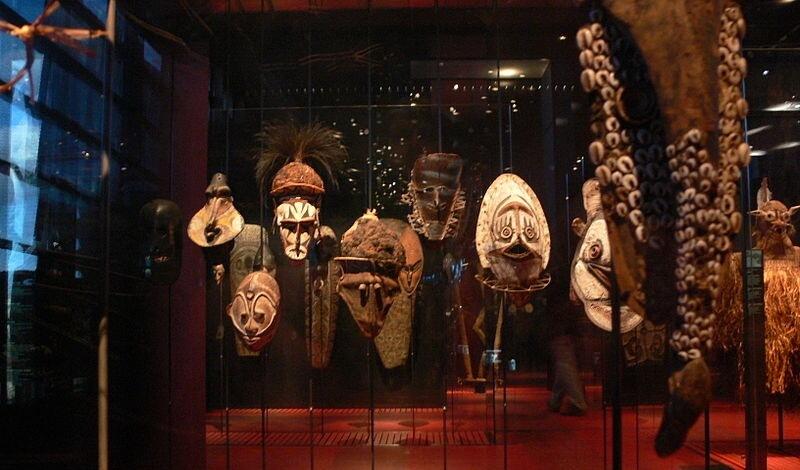 Musée de quai Branly paryż