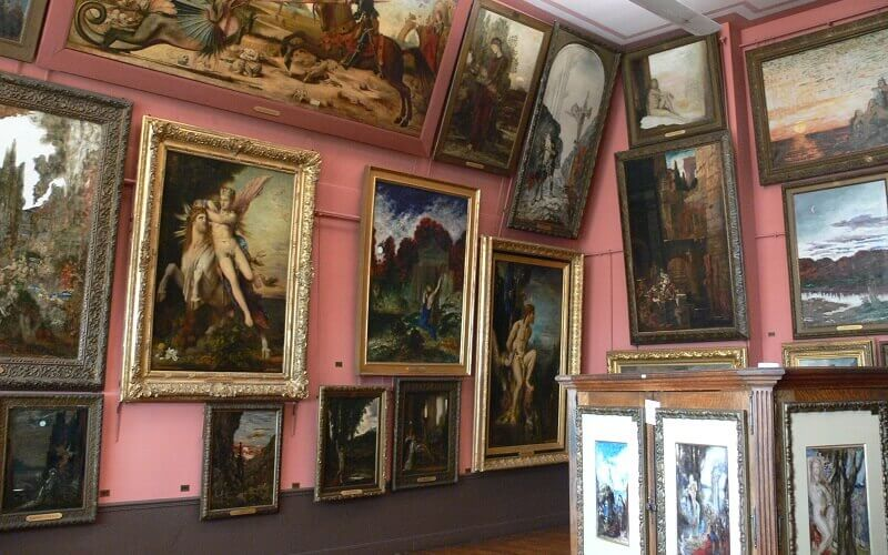 muzeum Gustave Moreau w Paryżu