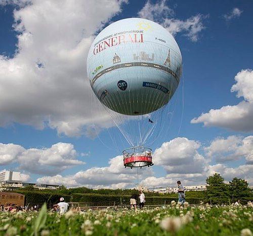 balon generali w paryżu