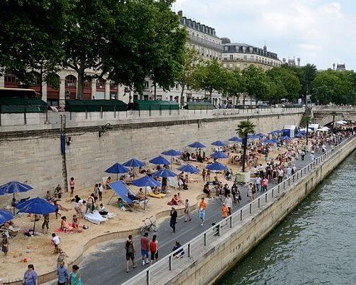 paris plages 2019 paryż