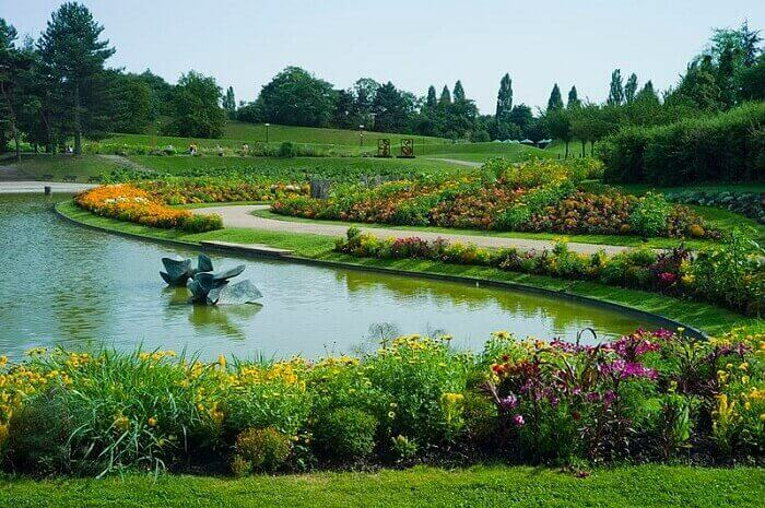 Parc Floral w Paryżu