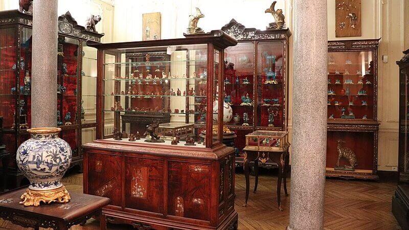 Musée d'Ennery w paryżu