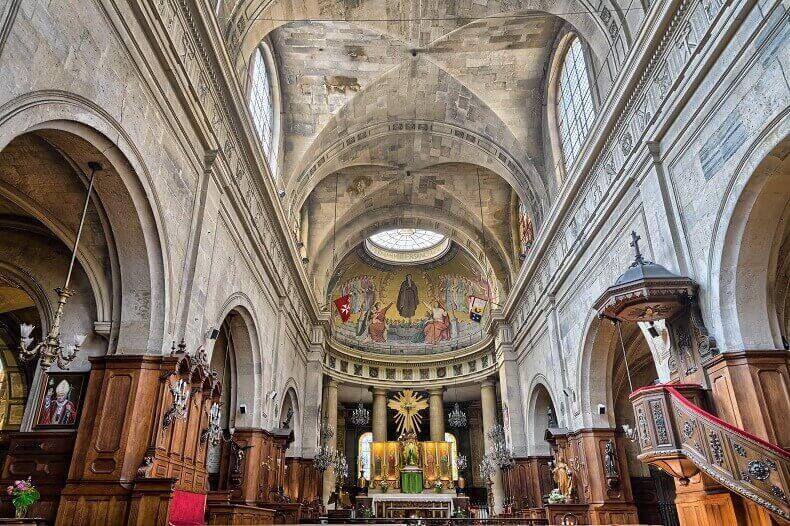 Église Sainte-Élisabeth-de-Hongrie w paryżu